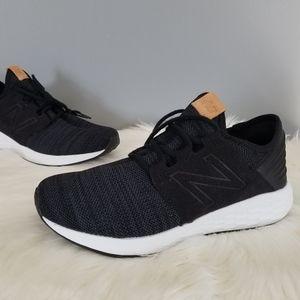 NEW balance 9.5 Cruz black running shoes light